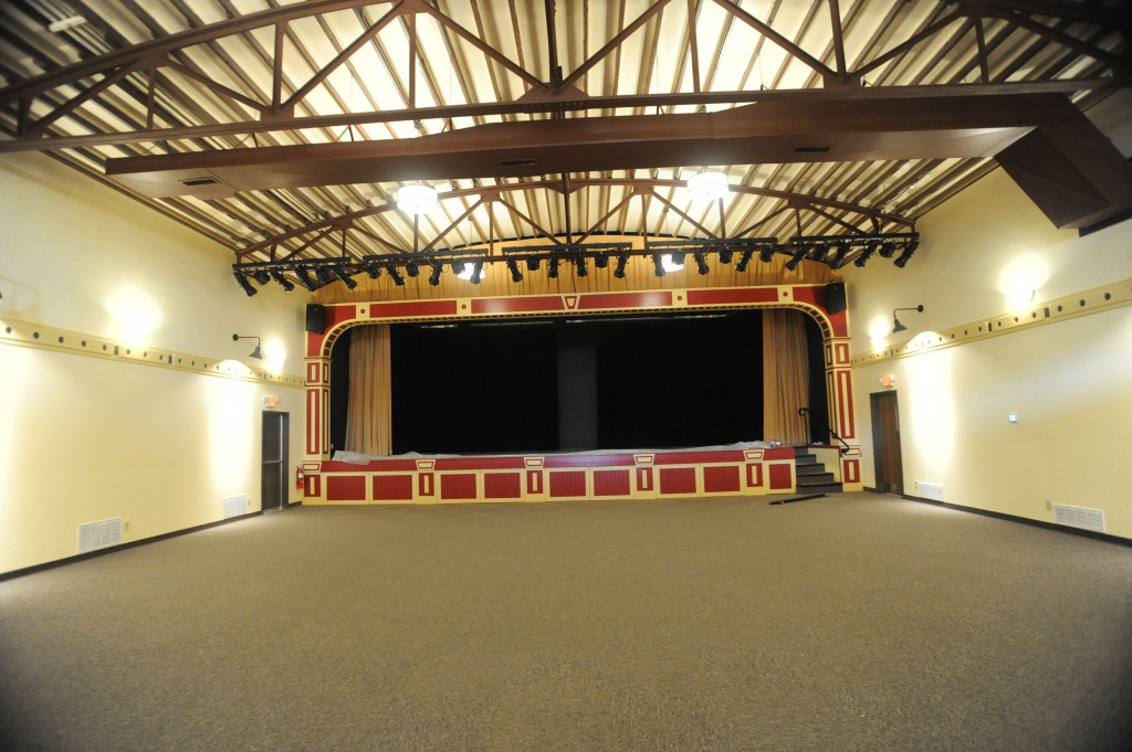 The Interior Of The Eagle Theatre After Renovations Were Complete.